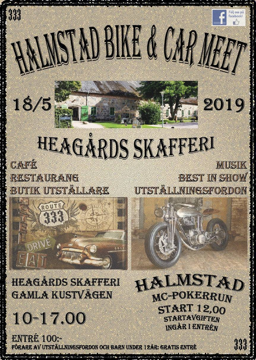 HALMSTAD BIKE & CAR MEET