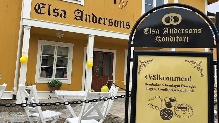 Elsas café i Norberg