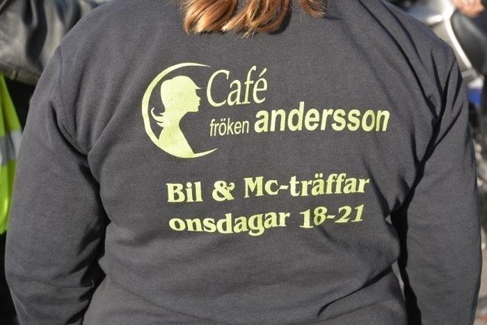 Körning till Cafe fröken Andersson