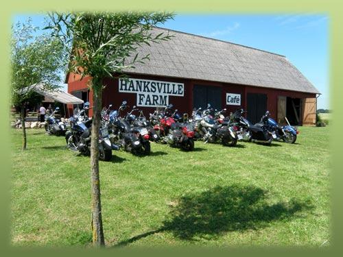 Hanksville farm  MC träff  14-15/8