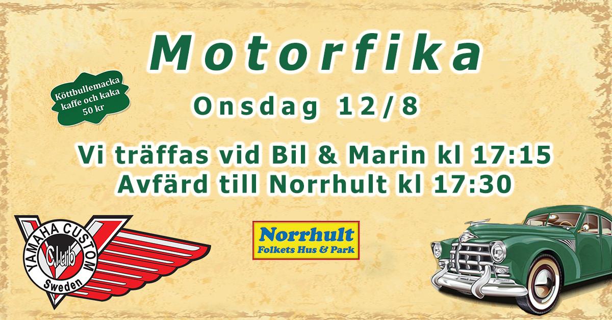 Motorfika på Norrhults Folkets Park