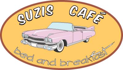 Fika på Suzies café